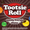 Tootsie Roll Candy Coated Chews Product Display