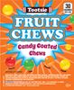 Tootsie Candy Coated Fruit Chews Product Display