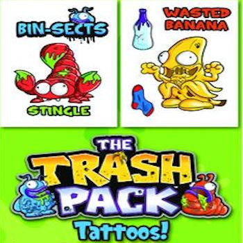 Trash Pack Tattoos