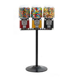 Triple Head All Metal Gumball Candy Machine