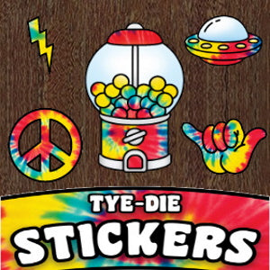 Tie Dye Stickers Product Image