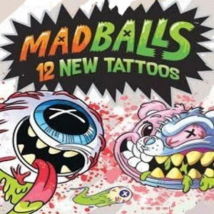 Madballs vending tattoos