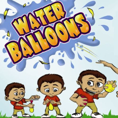 Water Balloons 2 Inch Toy Capsules