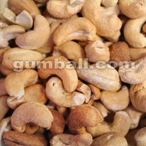 Whole Dry Roasted Cashews