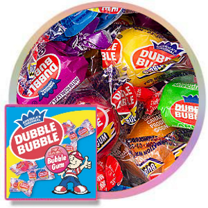 Dubble Bubble Wrapped Assorted Gumballs