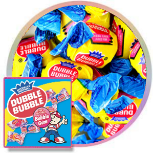 Dubble Bubble Original Twist-Wrap Bubble Gum