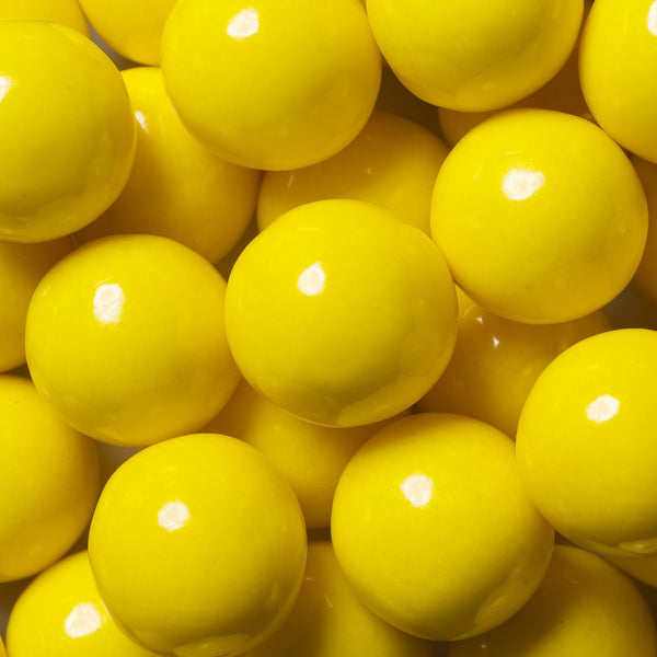Yellow Gumballs 2 Pounds