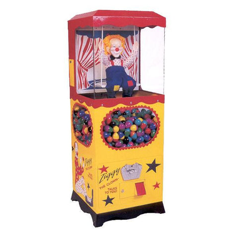 Ziggy The Talking Clown Capsule Vendor