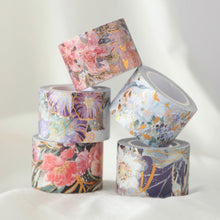 "Load image into Gallery viewer, The Washi Tape Shop ""Abbey Garden"" - Purple Flowers"