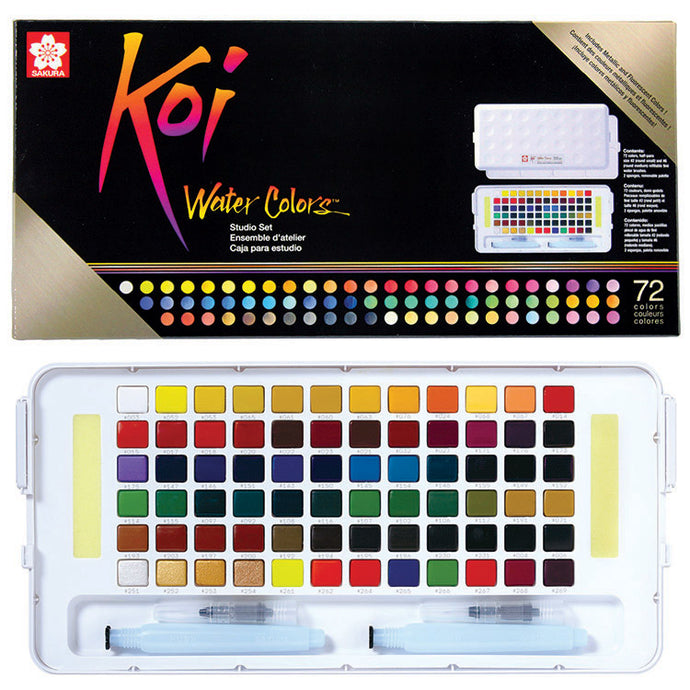 Sakura Koi Water Colors Sketchbox 72-pack
