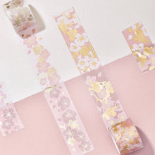 "Load image into Gallery viewer, The Washi Tape Shop washitape ""Tenohira Sakura"" - White"