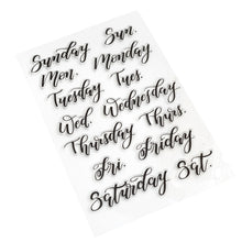 "Load image into Gallery viewer, Kelly Creates Stamp Set - ""Weekdays"""