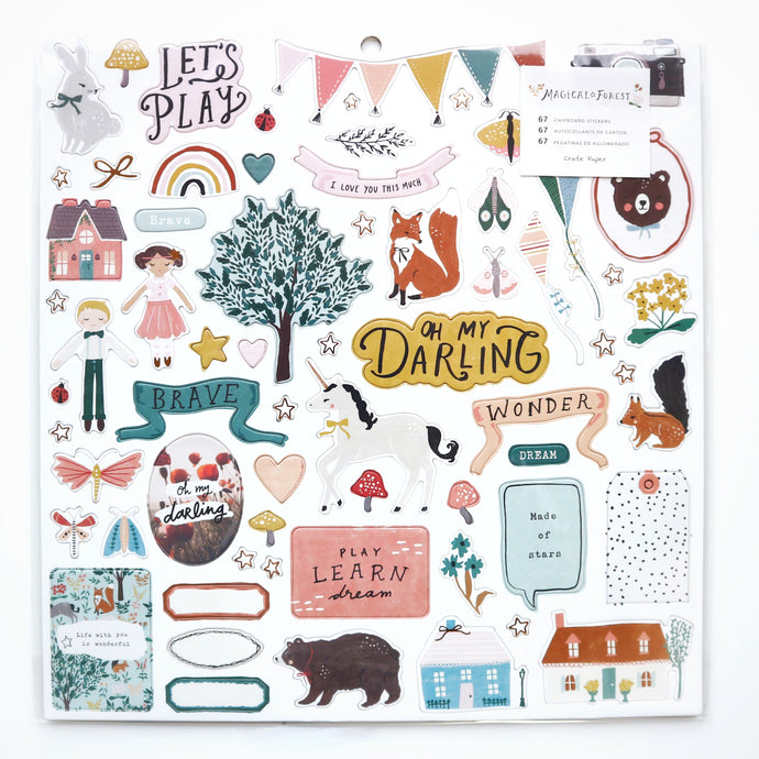 American Crafts Stickers (chipboard)