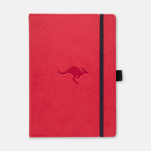"Indlæs billede til gallerivisning Dingbats* Notebooks A5+ Wildlife - ""Red Kangaroo"""