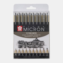 Load image into Gallery viewer, Sakura Pigma Micron 10-pack