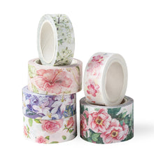 "Load image into Gallery viewer, The Washi Tape Shop washitape ""Spring Blossoms"" - White Magnolia"