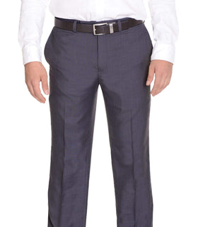 Calvin Klein Charcoal Gray Flat Front Dress Pants