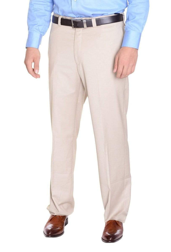 Calvin Klein Sale Pants 30X32 Calvin Klein Regular Fit Solid Beige Stone Flat Front Washable Dress Pants