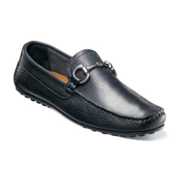 Florsheim Shoes For Amazon 7 D-M Florsheim Imperial Danforth Black Leather Slip On Loafer Dress Shoes With Bit