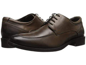 Giorgio Brutini Klave Brown Oxfords With Burnished Toe Leather Dress Shoes