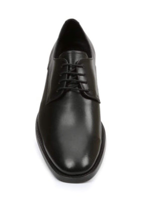 Giorgio Brutini Solid Black Leather Lace Up Oxford Dress Shoe
