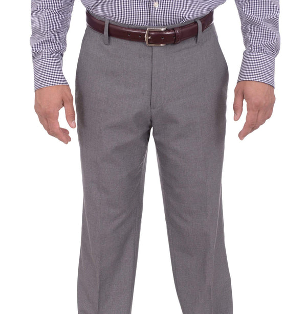 Kenneth Cole Reaction Sale Pants 30X32 Kenneth Cole Reaction Regular Light Heather Gray Flat Front Washable Dress Pants