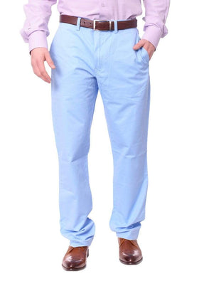 Ralph Lauren Mens Light Blue Cotton Blend Regular Fit Stretch Chino Casual Pants