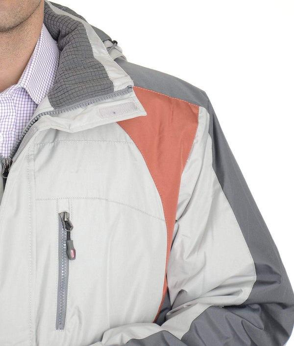 Weatherproof SALE Weatherproof 32 Degrees Ash Gray Water Resistant Coat With Removable Hood