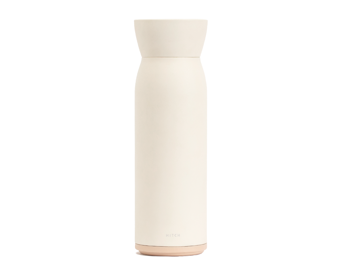Hitch Bottle and Cup in Natural White
