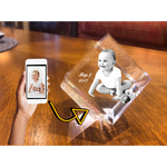 Load image into Gallery viewer, 3D Crystal Diamond Corner Cut