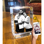 Load image into Gallery viewer, 3D Crystal Rectangle (TALL)