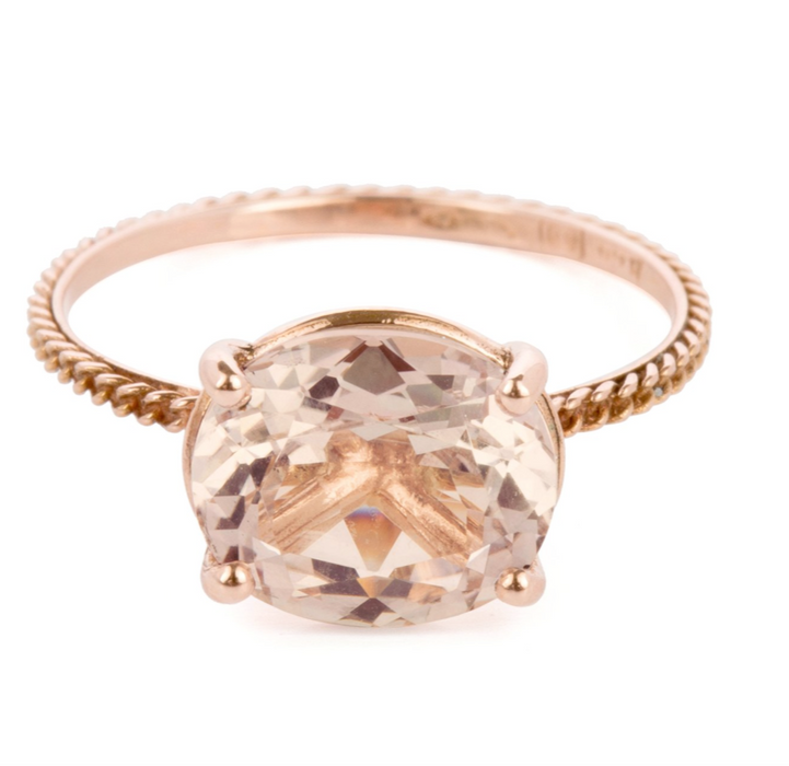 Bague Morganite Wouters & Hendrix