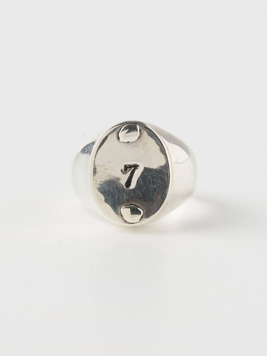 Bague Serge Thoraval chiffre 7