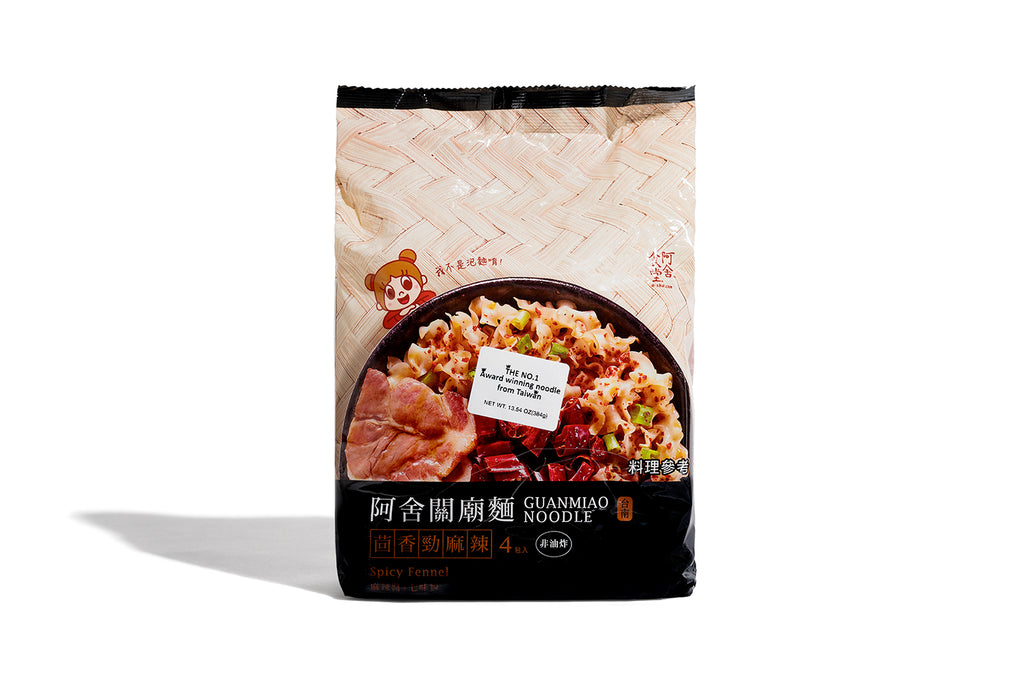 Knife Cut Noodles -  Spicy Fennel flavor (1set with 4 packs)