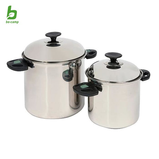 Bo Camp Elegance Pan Set Stainless Steel - 2 Pans - Pots &