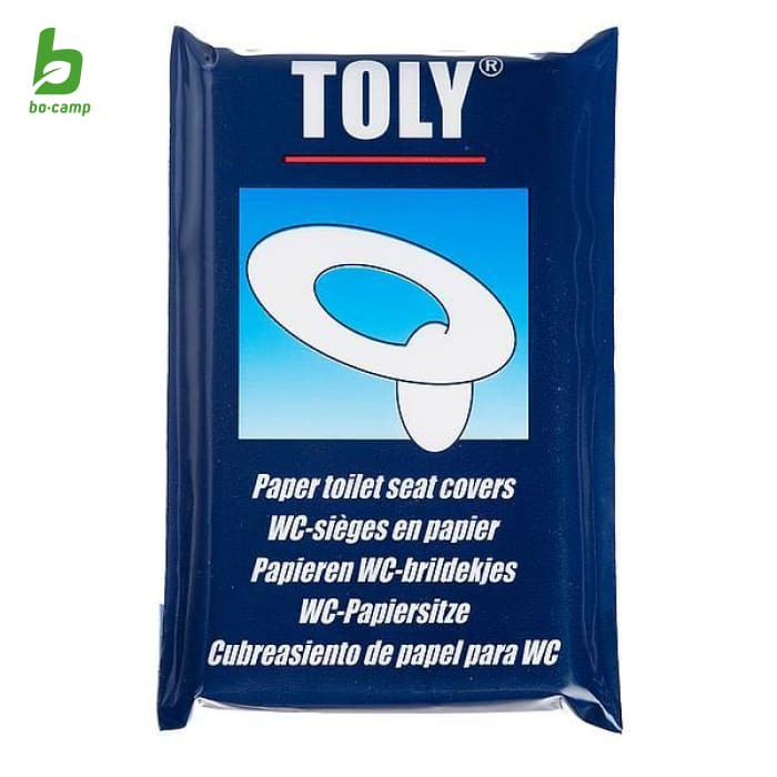 Bo-Camp Toilet Seat Cover Pack - Portable Toilets