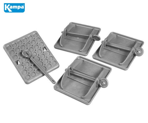 Kampa Landing Pads - Pack of 4 - Leveling & Security