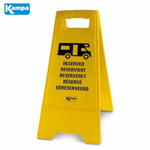 Kampa Motorhome Reserved Sign - Living Accessories