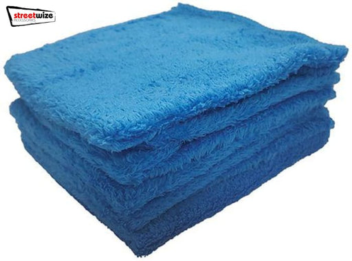Streetwize Super Soft Polishing Cloths 5 Pack - Maintenance