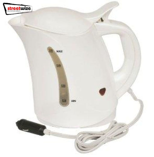 Streetwize 12V 1L Travel Kettle - Kettles