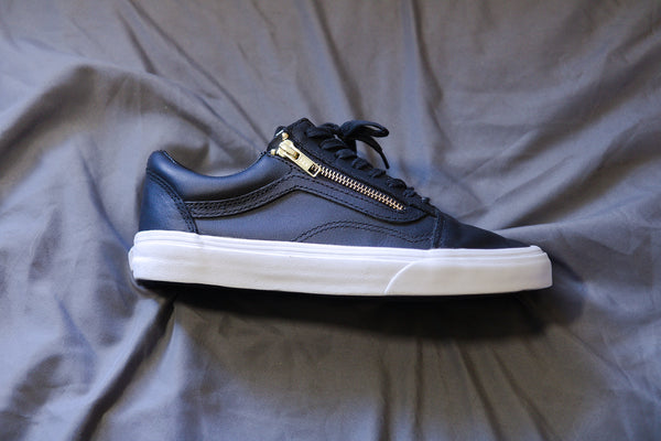 Vans Old Skool Zip Black Leather sneakers (Secondhand)
