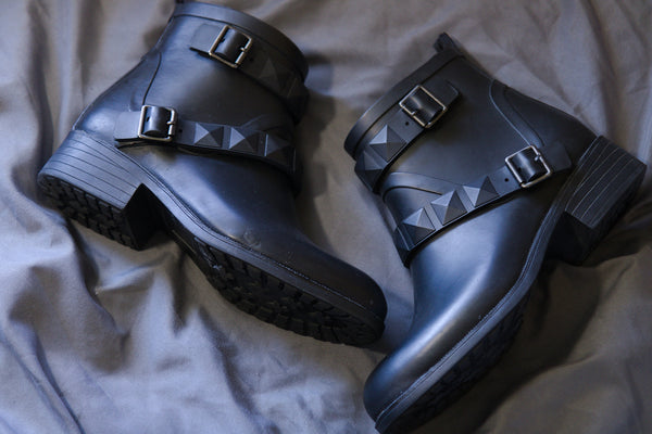 Merona Rubber Ankle Boots (Secondhand)