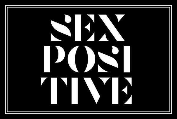 SEX POSITIVE postcard
