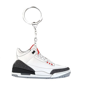 Porte Clé - AIR JORDAN 3 WHITE CEMENT
