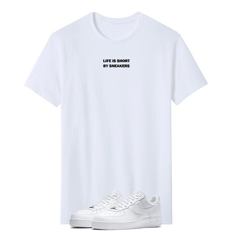 print-tee-sneakers-life-is-short