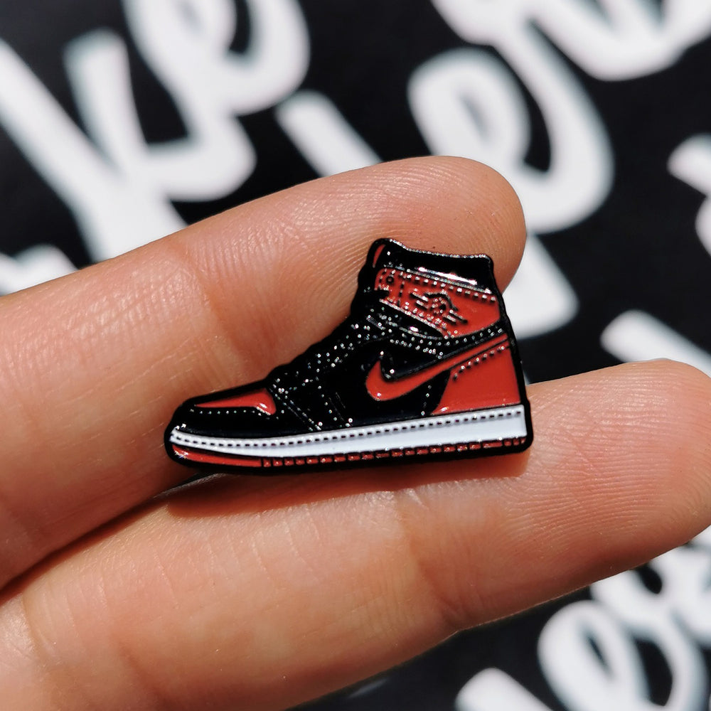 Pin's Design - Jordan 1 Bred