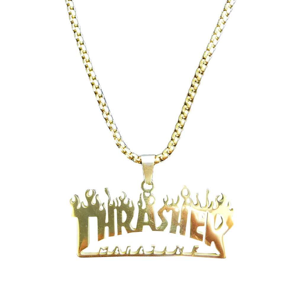 Collier TRASHER - Gold