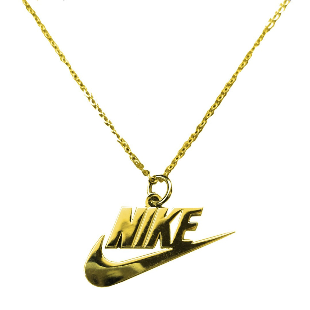 Pendentif NIKE Logo - Gold - Sneakers Dealers-Paris