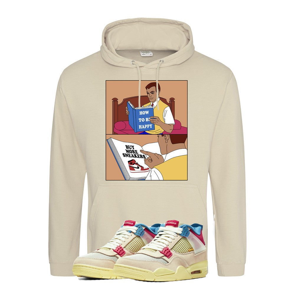 Print Hoodie (Guava Ice) - How To Be Happy - Sneakers Dealers-Paris