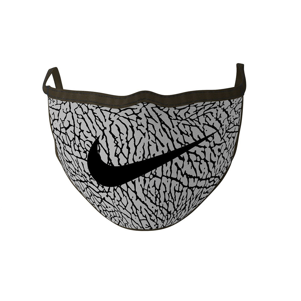 Face Mask - Swoosh Elephant Print - Sneakers Dealers-Paris